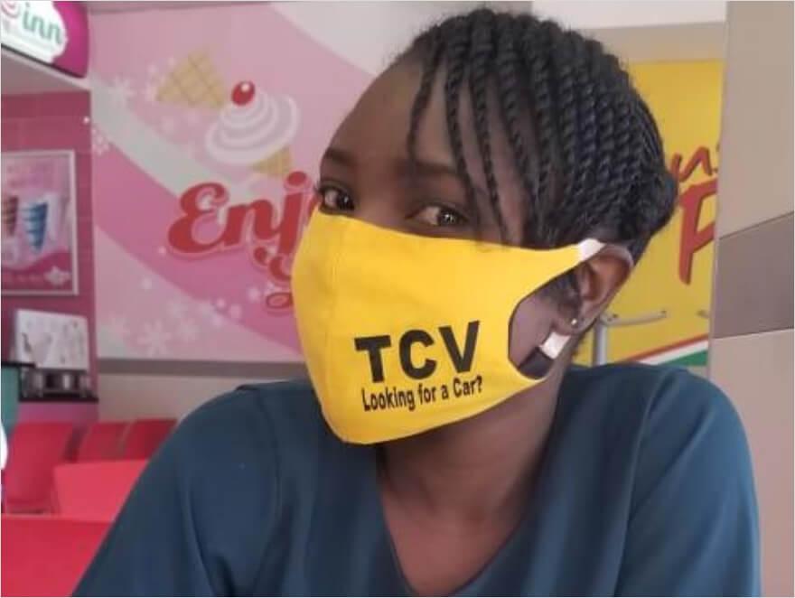 TCVマスク支援プロジェクト